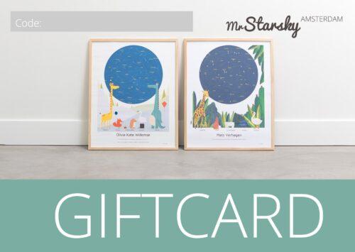 kraamcadeau babyshower giftcard