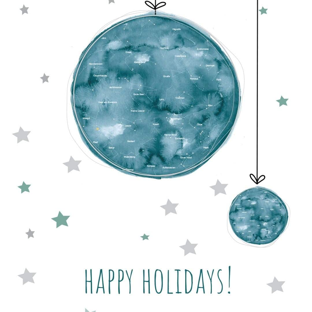 🌟We wish you happy holidays and many memorable moments for 2019!🌟 We have had a wonderful year and are enjoying the last bits of it. Full of excitement we are looking forward to coming year – working already on a big milestone in February!♥️ #happyholidays #bestwishes #mrstarskyamsterdam #stateofthestars . . . . . #endoftheyear #holidays #christmas #kerst #newyear #newproject #comingsoon #christmasgift #kerstcadeau #weihnachtsgeschenk #personalisedgift #persoonlijkcadeau #geboorteposter #birthposter #geburstgeschenk #kraamcadeau #kraamkado #sterrenhemel #sterrenstand #sterrenhemelposter #starrysky #familyandfriends #fijnevakantie #bijna2019 #almost2019 #jaarwisseling