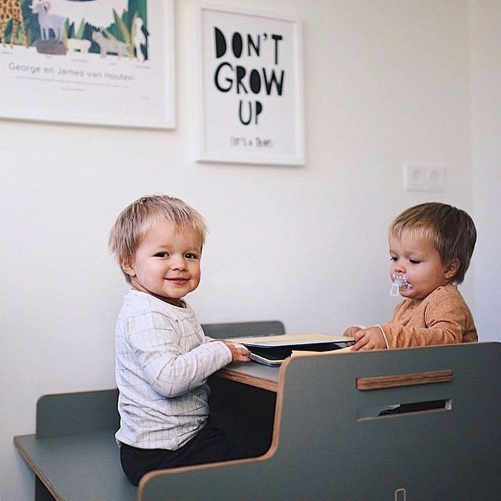 Throwback time! These boys did grow up (contrasting to the message behind them😉) The kids of @mamamargaritha spend their mornings reading their own books 💪 Thank you for sharing this cute picture! #littleboys #cuteness #birthposter #mrstarskyamsterdam . . . . . #zwangerschap #schwangerschaft #prenant #geboorte #kraamcadeau #birthposter #geburtsgeschenk #momlife #lebenmitbaby #growingup #opgroeien #geboorteposter #wanddekoration #muurversiering #kamerinrichting #kamerstyling #precioustime #kostbaretijd #sterrenstand #starrysky #sternenhimmel #sterrenhemelposter #geboorteposter #personalisedgift